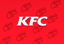 Cartões que o KFC Aceita